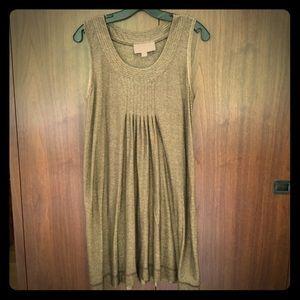 Nicole Miller Gold swing dress
